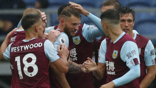 Burnley striker Vydra awarded Goal of the Month