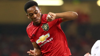 Man Utd striker Martial delighted with No9 shirt return