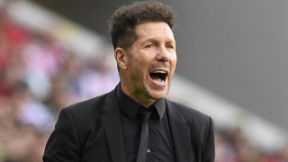 Atletico Madrid coach Simeone happy Morata back on scoresheet