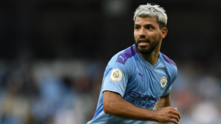 SNAPPED: Man City striker Aguero involved in accident as car comes off second best