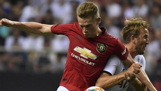 McTominay admits 'very close bond' with Man Utd pal James