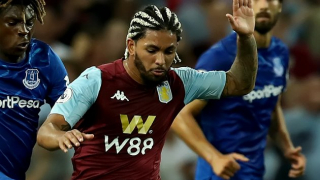 Douglas Luiz insists he's happy at Aston Villa amid Man City talk