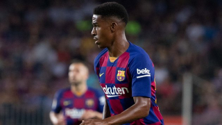 WATCH: Barcelona fullback Junior Firpo told of axe while on Levante pitch