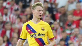 Barcelona midfielder Frenkie de Jong: I should be doing better