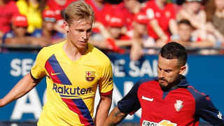 De Boer insists De Jong can be happy with first Barcelona season: Better than De Ligt