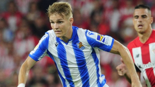 Real Madrid happy for Martin Odegaard to remain with Real Sociedad