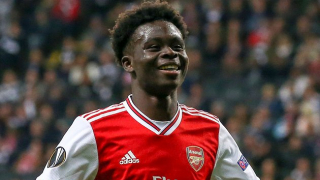 Arsenal whizkid Saka: I'm ready to challenge Lacazette