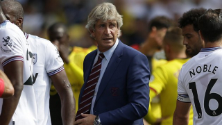 Michail Antonio: West Ham players behind Pellegrini