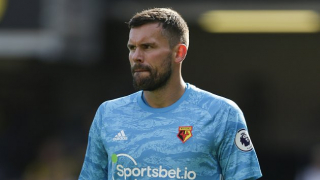 Watford goalkeeper Foster: This Man Utd legend best I've seen