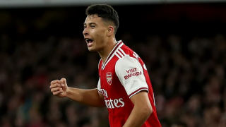Martinelli-inspired Arsenal romp four past Standard Liege