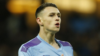 ​Foden earns the plaudits of Man City boss Guardiola