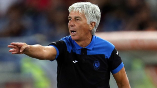 Atalanta coach Gasperini hails his players after firing seven past Lecce