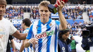 Real Madrid midfielder Odegaard confirms Real Sociedad exit
