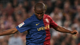 Barcelona hero Eto'o tells Drogba: Forget it! I'm Africa's greatest