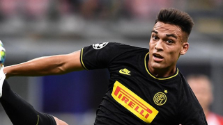 Inter Milan defender Godin says Barcelona target Lautaro 'just like Aguero'