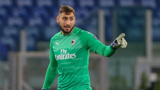 AC Milan keeper Donnarumma 'very optimistic' facing Inter Milan