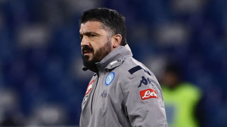 Napoli coach Gattuso on Lazio winner: Don't blame Ospina