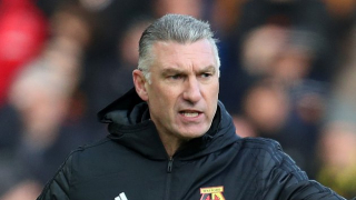 Watford boss Pearson happy leaning on Deeney