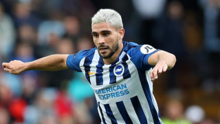 ​Napoli contemplate shock move for Brighton striker Maupay