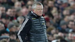 Sheffield Utd manager Wilder: I'll respect individuals who refuse to play