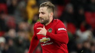 Man Utd fullback Shaw quickly impressed by 'nice guy' Van de Beek