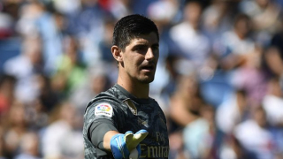 Real Madrid coach Zidane worried as Courtois struggling to make Man City trip