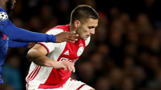 WATCH: Tadic in amazing clash with Ajax pal Dest  - and they still won!