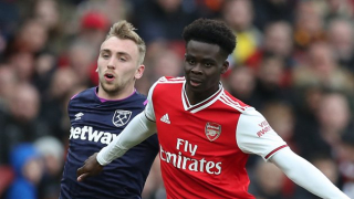 ​Arsenal youngster Saka 'honoured' by England call-up
