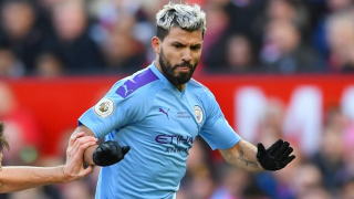 ​Striker Aguero still missing for Man City