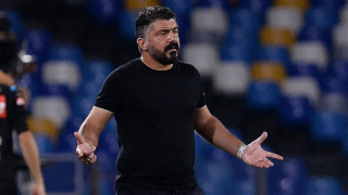 Napoli coach Gattuso pleased for Petagna after victory over Benevento
