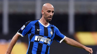 Borja Valero delighted to mark Inter Milan game No100 with victory over Napoli