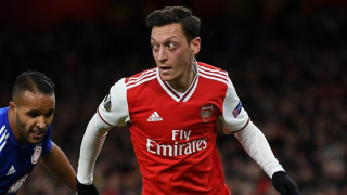 Arsenal boss Arteta coy on futures of Ozil, Martinez