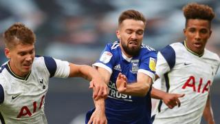 Ipswich boss Lambert upbeat despite Spurs thumping