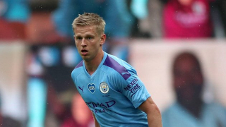 Man City fullback Zinchenko offered to Barcelona
