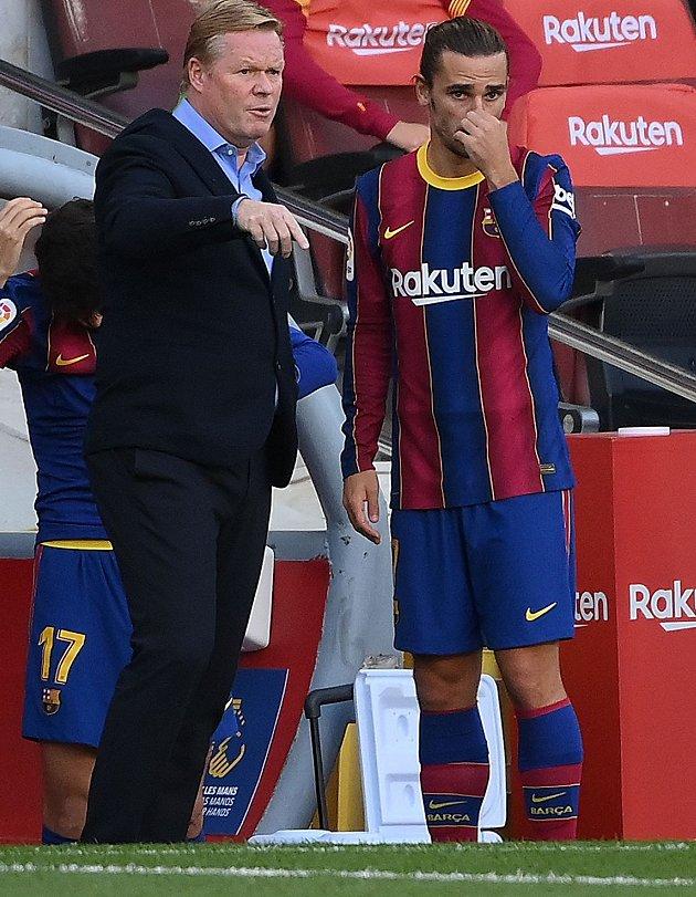 Barcelona coach Koeman: We must respond to PSG humbling