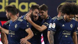 Osasuna break Cadiz hearts on LaLiga return