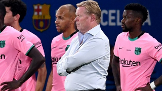 Barcelona coach Koeman admits he'd like new striker signing