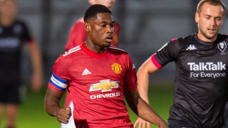 ​DONE DEAL: Derby agree loan move for Man Utd defender Teden Mengi