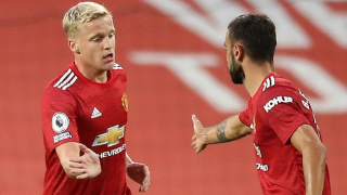 Van de Beek admits mentor Grevink 'really proud of me' over Man Utd move