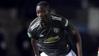 ​Man Utd defender Bailly confirms return to training