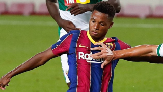Barcelona tell Mendes they can unilaterally upgrade Ansu Fati contract