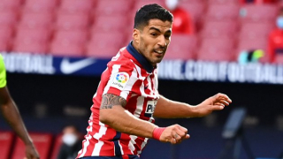 Luis Suarez proud of debut double in Atletico Madrid triumph