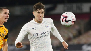 Man City boss Guardiola lauds Stones for 'outstanding' display against Olympiakos