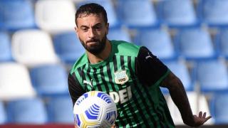 Francesco Caputo hails Sassuolo teammates for victory over Bologna
