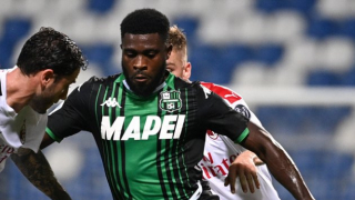 Agent admits Napoli pushed hard for Sassuolo winger Jeremie Boga