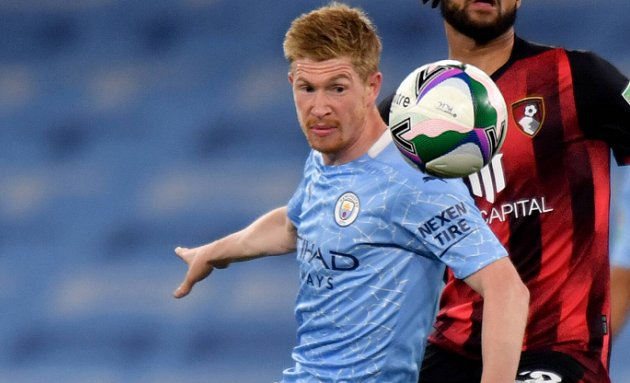 De Bruyne reveals talks with Manchester City over contract extension