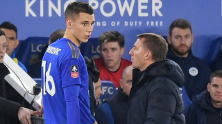 Leicester boss Rodgers: Benkovic not ready for Premier League
