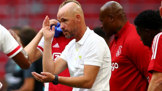 Ajax coach Ten Hag on shortlist at Tottenham