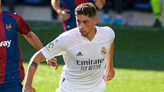 Real Madrid midfielder Fede Valverde 'happy' after thumping Huesca