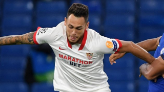 Watch: Sevilla ace Ocampos discusses Real Betis rivalry plus 'my career best form'
